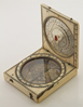 Bloud type Dieppe magnetic azimuth diptych sundial