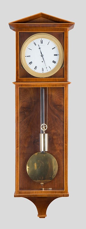 Dachl clock by Joseph Elsner with 7 days duration, c. 1835.