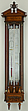 50. A FINE AND RARE DUTCH CONTRA-TUBE 'BAKBAROMETER', signed '... door Solaro en Comp: te Groning:', circa: 1805.