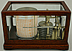 169. A FINE SMALL FRENCH BAROGRAPH, signed 'RICHARD FRÈRES (C)ONSTRUCTEURS BREVETES PARIS', circa: 1920.