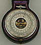 161. A FRENCH POCKET BAROMETER, signed 'MANUFACTURE FRANÇAISE ARMES & CYCLES S.T ETIENNE', circa: 1890.