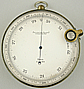 218. AN ENGLISH SURVEYING ANEROID BAROMETER, signed 'ROSS LONDON', circa: 1890.