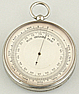 173. A FRENCH POCKET BAROMETER, unsigned, circa: 1890.