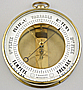 105. A RARE FRENCH BOURDON BAROMETER, signed 'RICHARD A PARIS', circa: 1855-1860.
