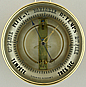 137. A RARE FRENCH BOURDON BAROMETER, unsigned, circa: 1870.