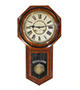 American striking Wall Clock, by Ansonia Clock Company
