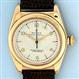 Rolex 14K gold reference 3131 Bubbleback vintage wrist watch