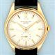 Fine and scarce Patek Philippe 18K gold automatic reference 2526 vintage automatic wrist watch with porcelain enamel dial