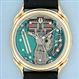 Bulova Accutron 14K gold Spaceview vintage wrist watch