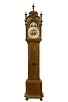 A fine Dutch burr walnut longcase clock, Gerrit Kramer 1741