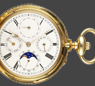 Rare Moonphase Calendar with Patent Winding