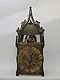 Late gothic iron clock. No. 8701