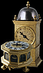 Antique renaissance table clocks and 'Turmchen Uhren'
