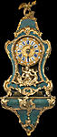 Antique bracket, cartel and Boulle clocks